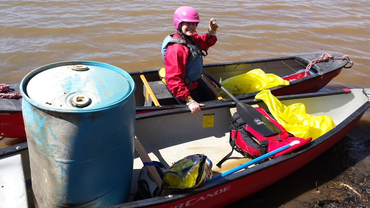 POTOMAC RIVER WATERSHED CLEANUP AT RILEY'S LOCK