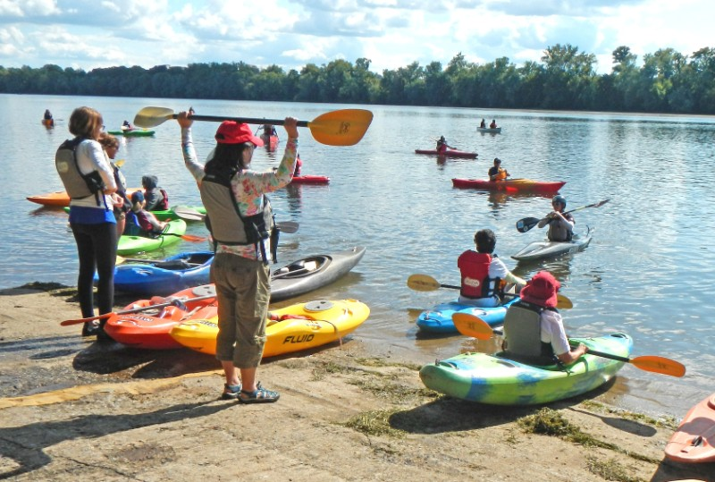 RiverPalooza's Women on the Water honors the special role women have with clean water.