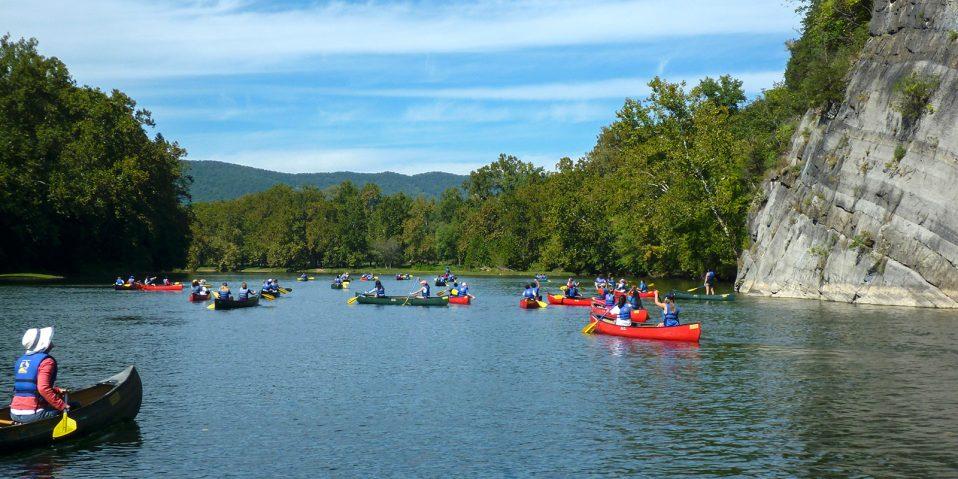 shenandoah river paddlers