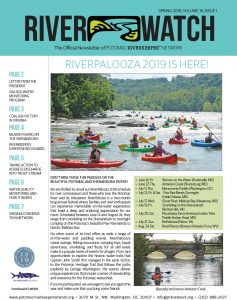 RiverWatch Spring 2019 Cover