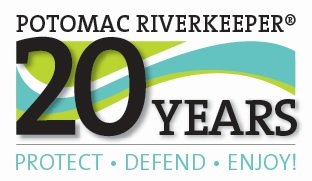 Potomac Riverkeeper 20th Anniversary Logo