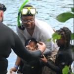 Fun at summer snorkeling – photo credit to Alan Lehman