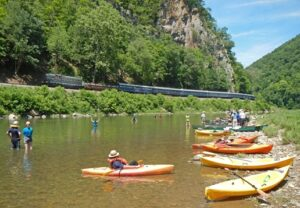 RiverPalooza Trough Kayak 3