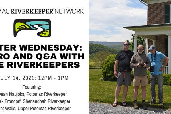 Water Wednesday: Riverkeeper Q&A